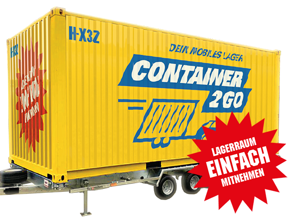 CONTAINER2GO KFZ-Anhänger