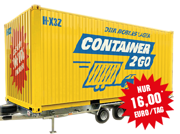 CONTAINER2GO-Anhänger-LC20